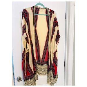 Free People long striped kimono - LOVE!!